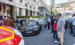 Prior Design Audi R8 Monaco Schaden Hotel Beschaedigung