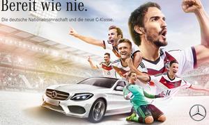 Mercedes C-Klasse DFB-Team Werbekampagne WM 2014