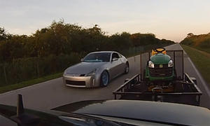 Frisch aus dem Netz: Ein Nissan 350Z will es wissen