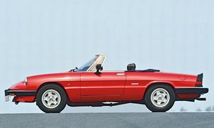 Alfa Romeo Spider Kaufberatung Bilder technische Daten
