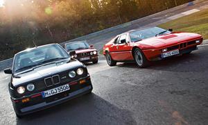 BMW M1 M3 M5 Fahrbericht Bilder technische Daten