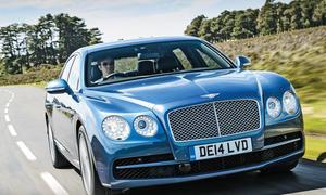 Bentley Flying Spur V8 Test Fahrbericht Luxusliner Bilder