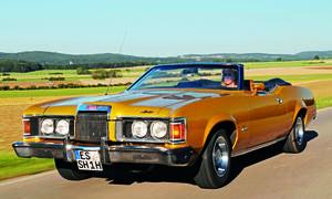 Ford Mercury Cougar XR7 1973 Cabrio US Car Fahrbericht Classic Cars