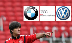 Fussball WM 2014 Deutschland Algerien Achtelfinale Audi BMW VW Mitarbeiter