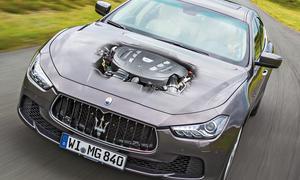Maserati Ghibli Diesel Test Oberklasse Limousine Bilder