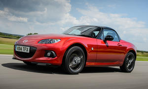 Mazda MX-5 Roadster Coupé 25th anniversary Limited Edition Goodwood 2014 Sondermodell