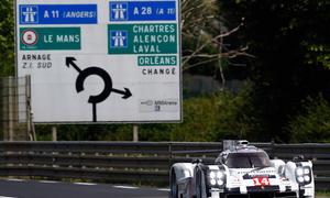 Porsche 919 Hybrid 2014 Le Mans 24 Stunden Rennen
