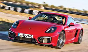 Porsche Cayman GTS Test Fahrbericht Bilder