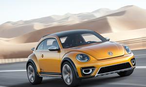 VW Beetle Dune 2016 Markteinführung Coupé Cabrio Offroader Bilder Neuheiten