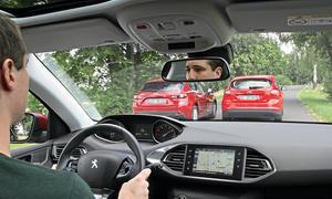 Ford Focus 1.0 EcoBoost Mazda 3 SKYACTIV-G 120 Peugeot 308 130 e-THP Kompakte Vergleichstest Bilder