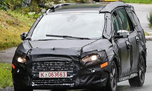 Ford Galaxy 2015 IAA Frankfurt Van 01