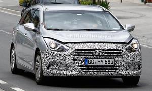 Hyundai i40 Facelift 2015 Erlkönig Kombi Prototyp Neuheiten Bilder