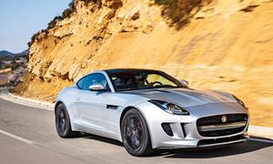 Jaguar F-Type Coupe Test Bilder technische Daten