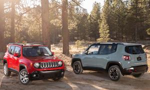 Jeep Renegade 2014 Preise Markteinführung Kompakt-SUV Bilder Offroder Neuheiten