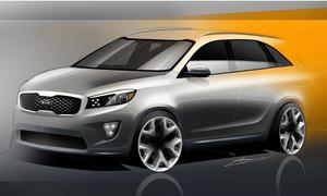 Kia Sorento 2015 SUV Geländewagen LA Auto Show 2014 Design Bilder