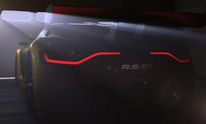 Renault Sport RS 01 2014 Moscow Motorshow Alpine Sportwagen