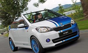 Skoda Citijet 2014 Citigo Fahrbericht Show Car Cabrio Wörthersee