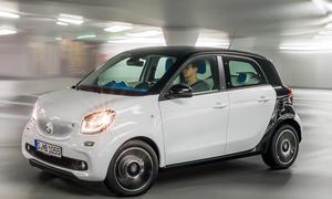 Smart ForFour 2014 Pariser Salon Kleinwagen 09