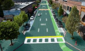 Solar Roadways Solarzellen Straße Induktives Laden Crowdfunding