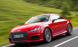 Fahrbericht Audi TTS 2.0 TFSI Sportversion Fahraufnahme