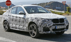 BMW X4 M40i 2015 M Performance Erlkoenig SUV Coupe