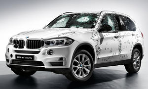 BMW X5 Security Plus 2014 Moskau Auto Show Panzerung SUV Panzer