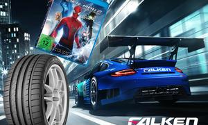 Falken Gewinnspiel Amazing Spiderman 2 Verlosung DVD Blu-ray Reifen