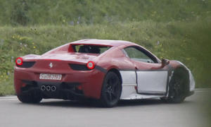 Erlkönig Ferrari 458 M T Supersportwagen Nachfolger V8 Turbo Sauger E-4