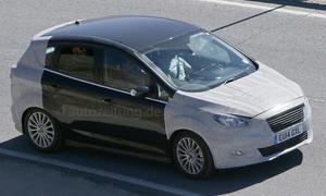 Ford C-Max Facelift 2015 Erlkönig Van Neuheiten Prototyp