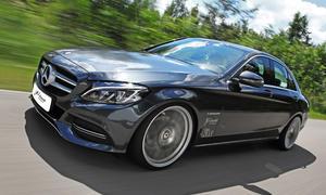 Mercedes C Klasse Tuning Alu Felgen Schmidt Leistungssteigeurng Carlsson KW Fahrwerk