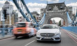 Mercedes CLS 400 2014 Facelift London Test Fahrbericht Bilder