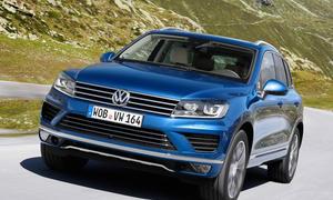 2014 VW Touareg Facelift SUV Bilder technische daten V8 0002