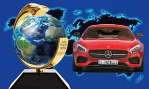 Auto Trophy 2014 Gewinnspiel Preise Mercedes-AMG GT S Audi TT S Ford Mustang VW Passat Variant