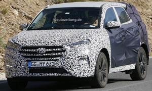 Erlkoenig Hyundai ix35 2015 SUV Wasserstoff Brennstoffzelle Neuheit 0002