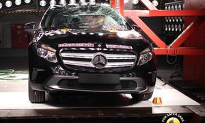 Euro NCAP Mercedes GLA 2014 Sicherheit Crash-Test Kompakt-SUV