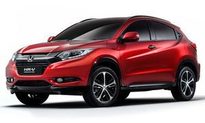 Honda HR-V 2014 Paris Auto Show Kompakt-SUV Studie Pariser Autosalon