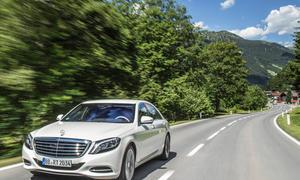 Mercedes C-Klasse Plug in Hybrid E-Klasse 2015 S 500 PHEV