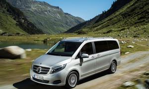 Mercedes V Klasse 4Matic Allrad Antrieb Transporter Van