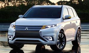 Mitsubishi Outlander 2014 PHEV Concept S Plug in Hybrid Pariser Salon