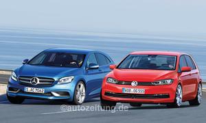 Neuheiten VW Golf Mercedes A-Klasse Vorschau Bilder