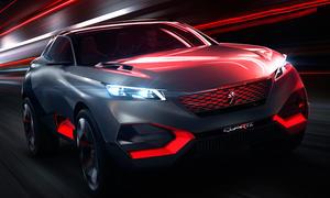 Peugeot Quartz 2014 Paris Hybrid SUV Crossover Studie