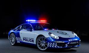 Porsche 911 Carrera Polizeiauto Australien Harbourside LAC Sportwagen