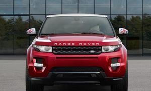 Range Rover Evoque Union Sondermodell Headup Display Great Britain 0002