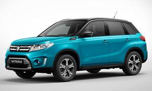 Suzuki Vitara 2014 Pariser Autosalon Kompakt-SUV Geländewagen