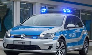 VW e-Golf 2014 Polizei Auto dienstwagen 002