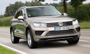 VW Touareg V6 TDI Bluemotion Technology Facelift Fahrbericht