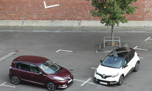 Renault Scenic TCe 130 Renault Captur TCe 120 EDC SUV Van Vergleichstest