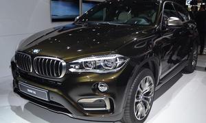 SUV-Neuheiten Rundgang Pariser Autosalon 2014 Geländewagen Bilder BMW X6 Volvo XC90 Kia Sorento Fiat 500X