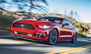 Ford Mustang 2015 2.3 EcoBoost Fahrbericht Bilder technische Daten Muscle-Car