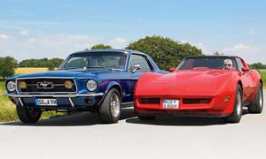 Ford Mustang Chevrolet Corvette C3 Kaufberatung Vergleich Bilder technische Daten